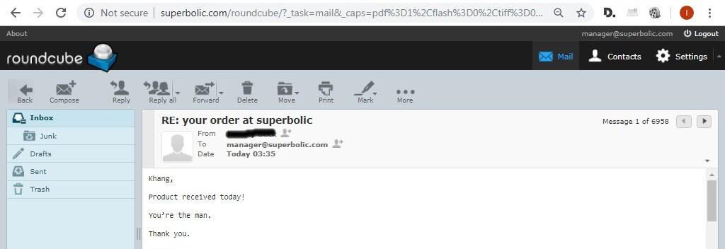 superbolic customers feedback